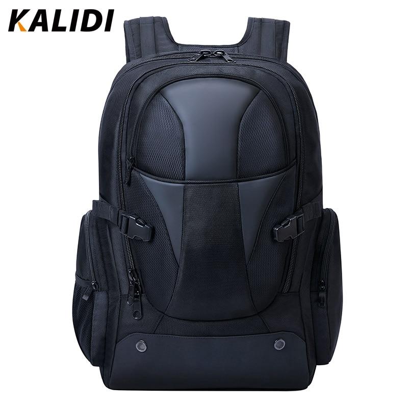 KALIDI Men Backpacks Waterproof Multifunction Large Capacity Rucksack Travel Backpack 15.6-17.3 Inch Game Laptop Male Backpacks
