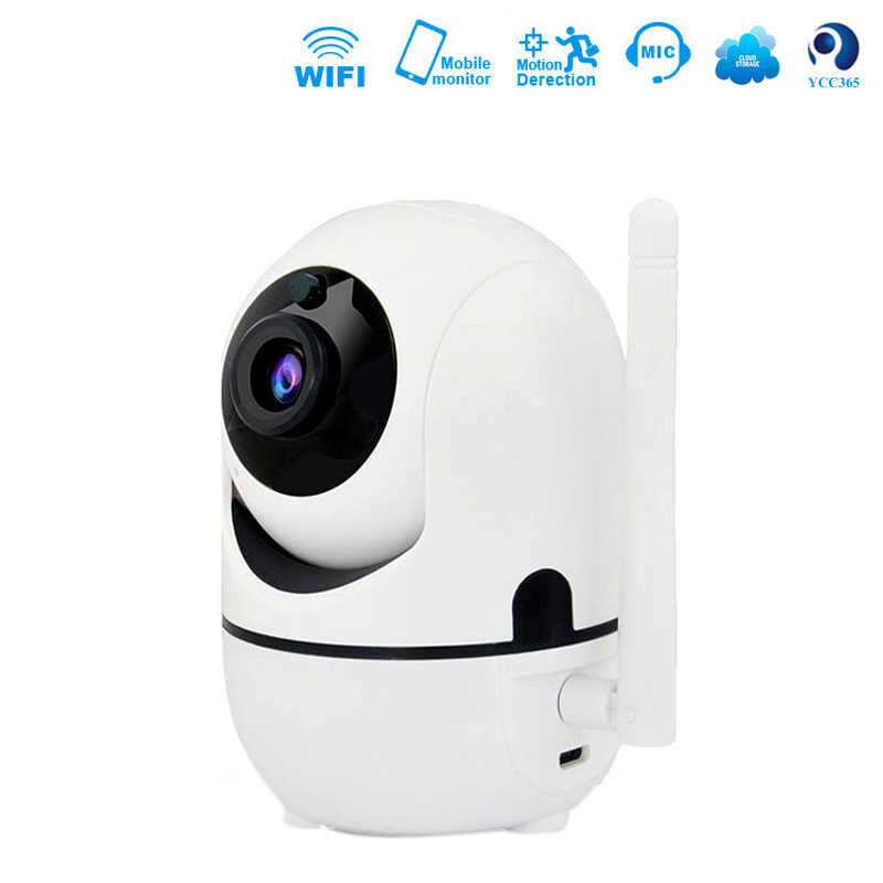 GCCAC IP Camera Wifi 1080P HD Wireless Smart PTZ Security Surveillance Cam 2-Way Audio Motion Tracker Monitor 720P ipcam Camera