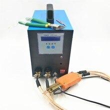 18650 высокомощная батарея точечная сварка 6KWA 220V интегрированная точечная сварка Ручка точность импульсная точечная Сварка