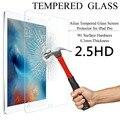 2.5d 9 h vidrio templado protector de pantalla para ipad 2 3 4 5 mini 1 2 3 4 aire 1 2 protector de pantalla de la película protectora para ipad 2 3 4 5