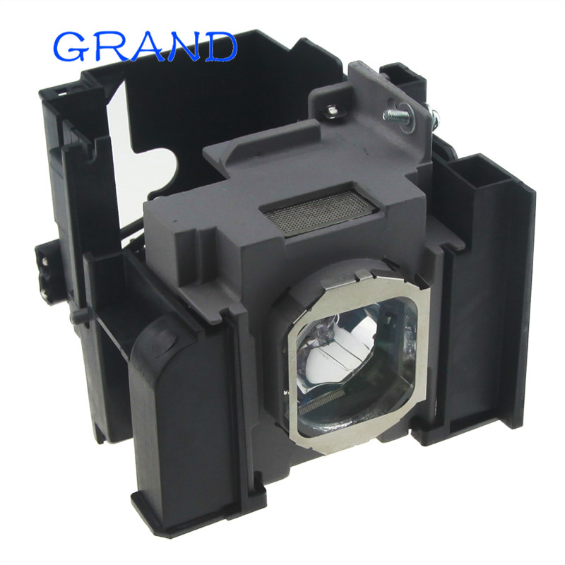 цена на Free shipping ! ET-LAA410 Compatible lamp with housing for PANASONIC PT-AE8000/PT-AT6000/PT-HZ900 Projectors HAPPY BATE