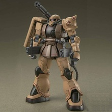 Original Gundam HG 1/144 Model MS-06CK ZAKU 2 HALF CANNON Mobile Suit THE ORIGIN GTO Kids Toys все цены