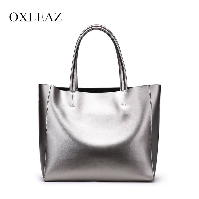 OXLEAZ Women Messenger Bags Large Size Female Casual Tote Bag Genuine Leather Handbag Shoulder Bag Famous Brand Bolsa Feminina 2018 fashion women shoulder mochila daily women tote all match messenger bag high capacity soft casual pu leather bolsa feminina