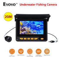 Eyoyo F05 4 3 HD 1000TVL 20m Underwater Fishing Video Camera 8pcs Infrared LED 150degrees Fish