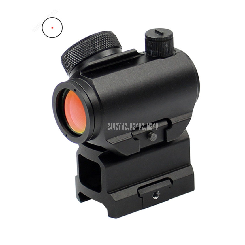 HD-27 Red Dot Sight Rifle Scope Waterproof Gun Sight Optical Scope Fit For 20mm Picatinny/Weaver Rail Mount Tactical Riflescope