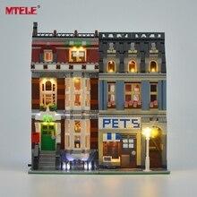 MTELE العلامة التجارية مصباح ليد عدة لمتجر الحيوانات الأليفة مجموعة إضاءة للسوبر ماركت متوافق مع 10218 (لا تشمل النموذج)
