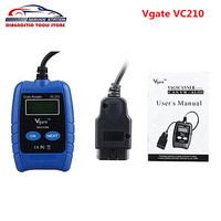 Promotion Vgate VC210 VAG Auto Scanner VC210 OBD2 OBDII EOBD CAN Code Reader Diagnostic Tool With Best Price