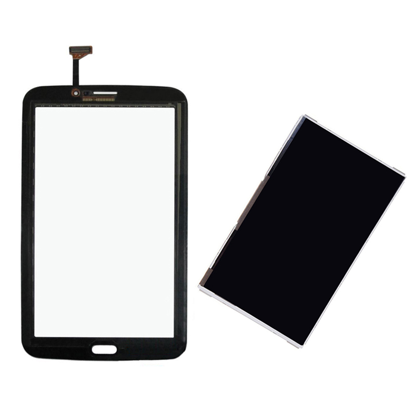 Black For Samsung Galaxy Tab 3 7.0 SM-T211 T211 Touch Screen Digitizer Sensor Glass + LCD Display Screen Panel Monitor