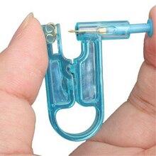 Горячая здоровая безопасность Asepsis одноразовый блок уха шпильки для пирсинга пистолет инструмент для пирсинга