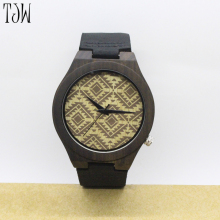 TJW Wooden watch New wholesale wood smart wrist watch men women fashion wooded watch fashion bamboo watch