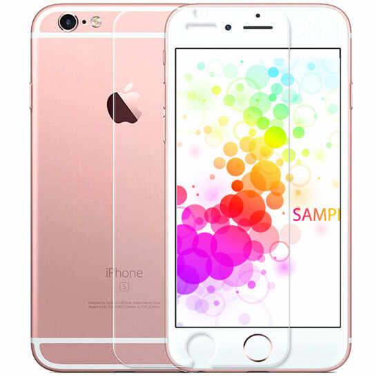 Закаленное стекло 9h для iphone X 8 5 5S 5c SE 6 6s плюс 7 плюс защитное стекло для защиты экрана чехол + чистые комплекты