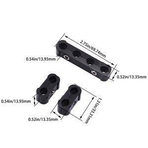 Image 5 - Kwaad energie Voor 8mm 9mm 10mm Diameter Motor Bougiekabels Separator Divider Clamp Kit Zwarte Goud paars Rood Zilver