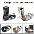CNC Deep Cut Upper Boot Slider Shock Fork Covers for Harley Davidson Touring and Trike Models 1980-2013 09 10 11 12 Custom