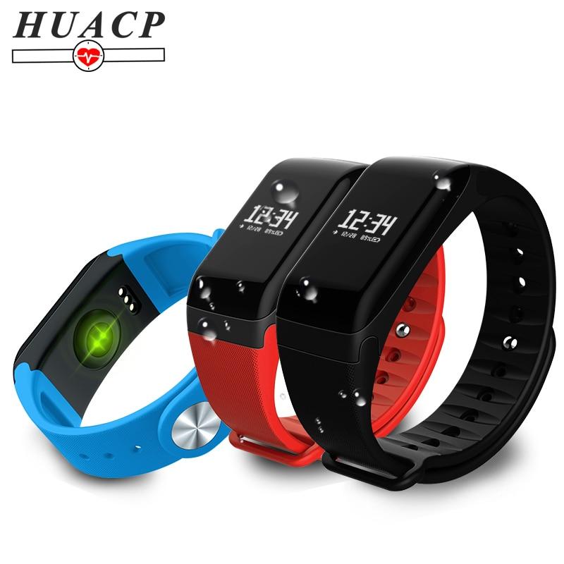 HUACP R3 Intelligente WristBand Bracciale Fitness Pressione Sanguigna Banda Heart Rate Health Tracker Pedometro Impermeabile per Android iphone