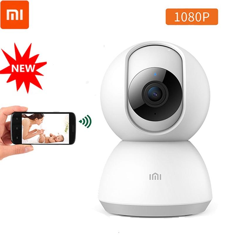 Original Xiaomi Mijia1080P Smart Camera 360 Angle WIFI Wireless Night Vision xiaomi Security Camera Monitor Two