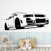 Exquisite car Wall Sticker Pvc Removable For Living Room Bedroom Decoration Murals