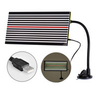 Super PDR Tools White LED Reflector Line Board with 5m USB Power Line Paintless Dent Repair Tools Auto Body Tool Car Dent Repair