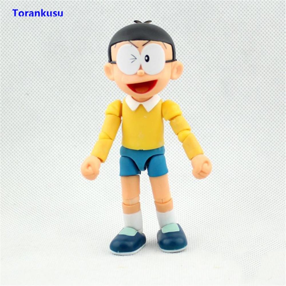 Doraemon The Robot Spirits Nobita Nobi Action Figure PVC Collectible Hot Toys Kids Gift Children Man Birthday Doll Model XP