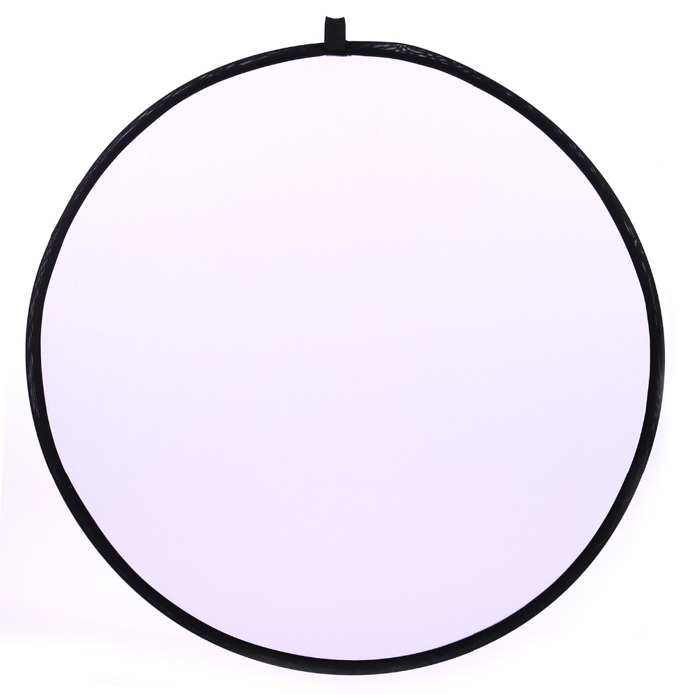 CY 32inch 80cm Free ship Translucent Photo Studio Reflector Handhold Collapsible Portable Disc Light Reflector for Photography