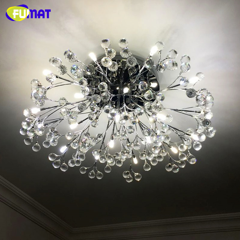 21 fumat Light Lustre Chandeliers Crystal Fashion Control Room In Us370 31Off European Living Round Led Remote For Lights Creative GqVSUzMp