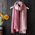 Long Gradient Fashion Women Scarf Floral Print Neck Scarf Women Infinity Winter Scarf Female Women Winter Scarves Wraps