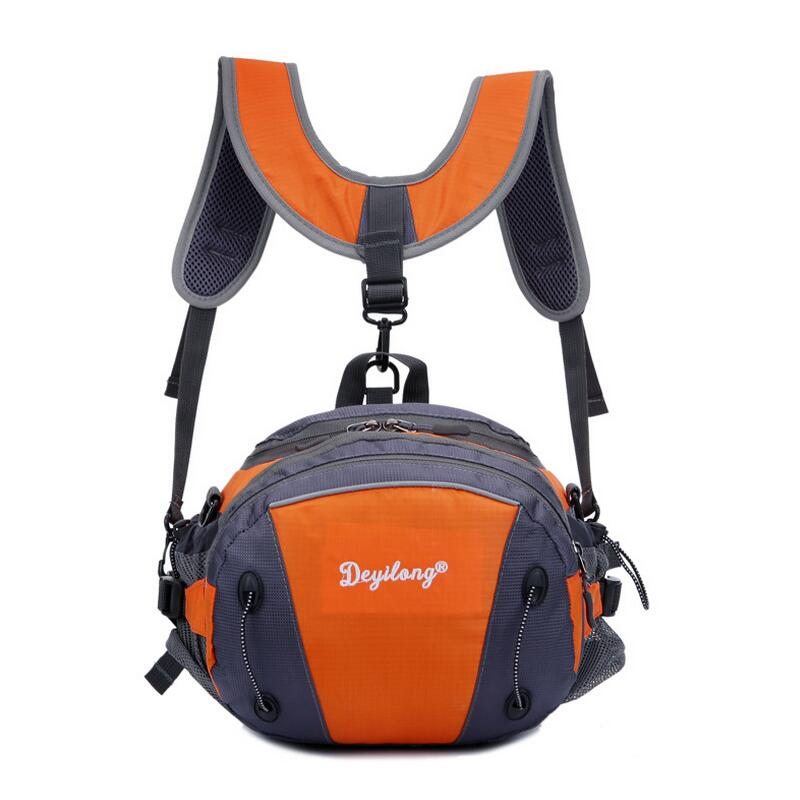 Outdoor climbing bag multifunction shoulder bag Messenger bag Leisure sports Waist Bags  ...