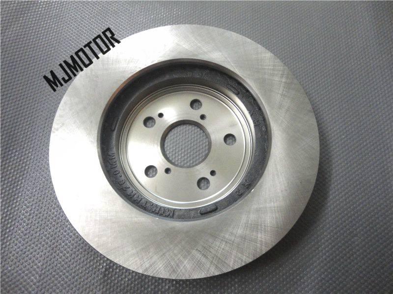 (2 pcs/ensemble) avant/Arrière disques De Frein gauche et côté droit Pour Chinois BYD S6 SUV M6 Auto voiture moteur partie S61011848 /S61011057