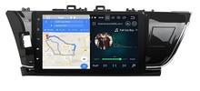 Belsee для Toyota Corolla 2014 2015 10,1 «ips сенсорный экран Android 8,0 4 Гб автомобильный радиоприемник стерео автомобильный радиоприемник с Bluetooth gps навигацией