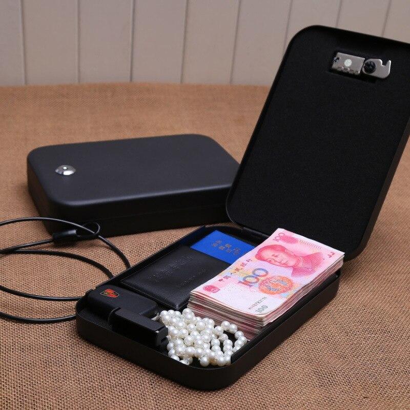 Wofo cash jewelry jewelery box car safes handgun safe for 16 box auto