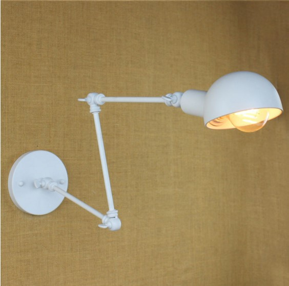 Long Adjustable Arm Vintage Wall Lights For Home Loft Industrial Edison Wall LampLong Adjustable Arm Vintage Wall Lights For Home Loft Industrial Edison Wall Lamp