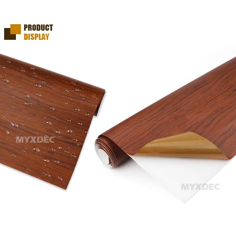 122 * 30cm lipni vinilo medžio grūdėto audinio tekstūra, - Automobilių išoriniai aksesuarai - Nuotrauka 4