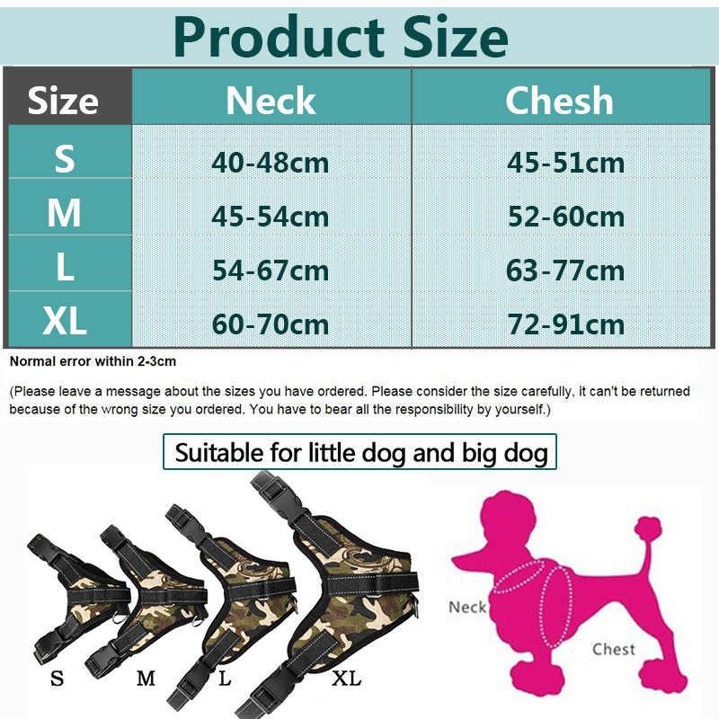 מוצרים לחיות מחמד עבור כלב גדול לרתום k9 זוהר Led צווארון כלבלב עופרת חיות מחמד אפוד כלב מוביל אביזרי צ 'יוואווה Dropship