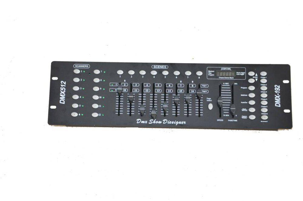 Freeshipping DMX 192 Controller,DMX512 controller,Computer Controller,Stage Ligtin,DJ Event event
