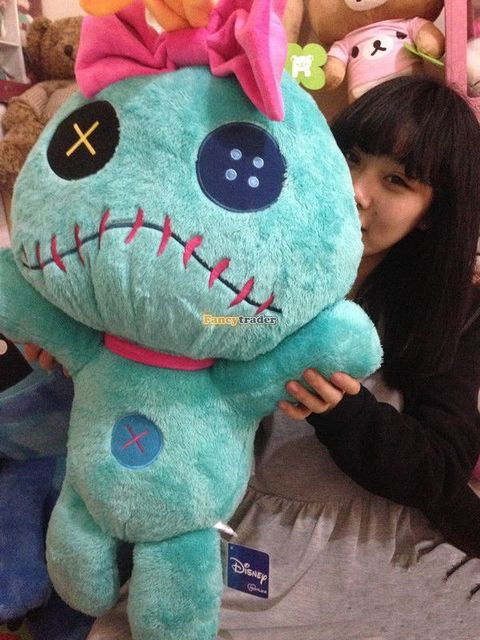 Fancytrader Copyrighted New 26'' / 65cm Super Giant Stuffed Soft Plush Giant Cute Stitch Toy, Nice Gift, Free Shipping FT50794