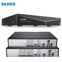 SANNCE 4/8 Channel 720P H.264 Video Recorder HDMI Network D1 Realtime CCTV DVR 8CH for Home Security Camera System