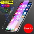 3Pcs HD glass Toughe...