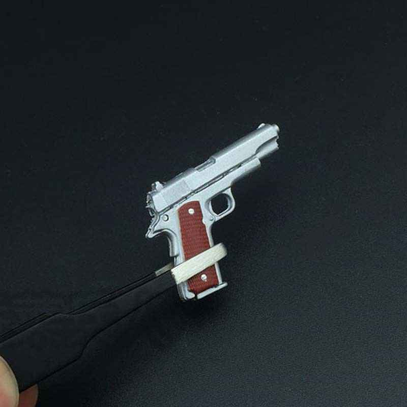 """1//6 Scale WWII US Army M1911 Plastic Model for 12/"""" Action Figure Doll Toys"""
