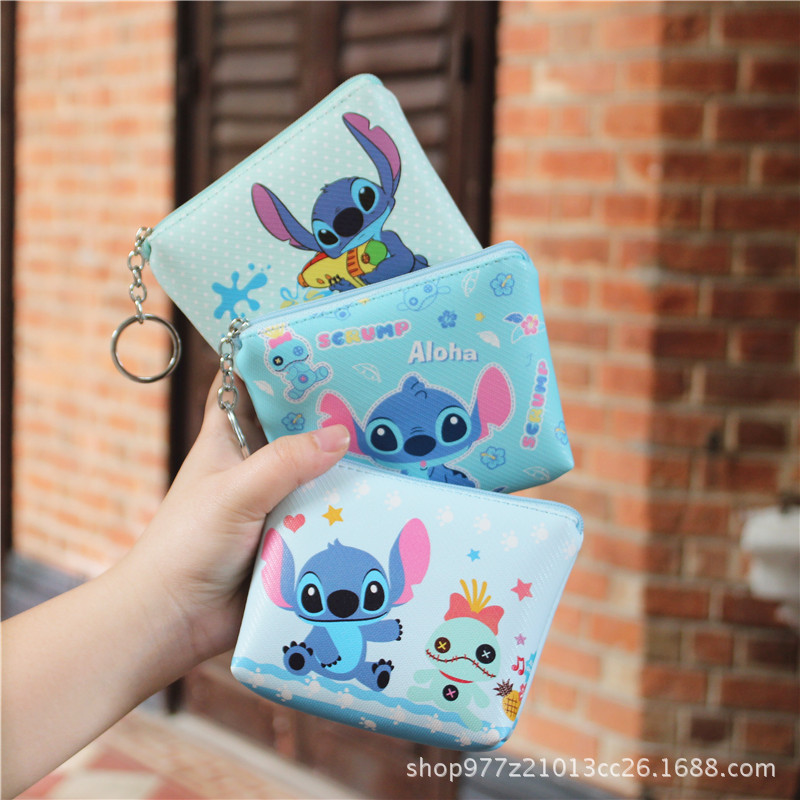 Official Website Ivyye 1pcs Mickey Stitch Anime Plush Card Holder Pu Cartoon Credit Id Bags Coin Bus Card Wallet Kid Girls Gifts New Card & Id Holders