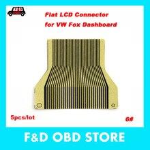 Для V-W Fox Dashboard pixel repair ribbon для V-W Fox instrument cluster pixel Failed repair ribbon cable 5 шт./лот