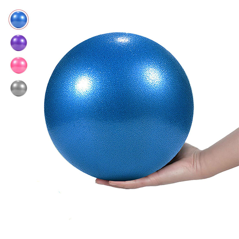 1 Pcs 25cm Yoga Ball Physical Fitness Appliance Exercise Balance Wheat Tube For Trainer Gymnastic Pilates 0.22