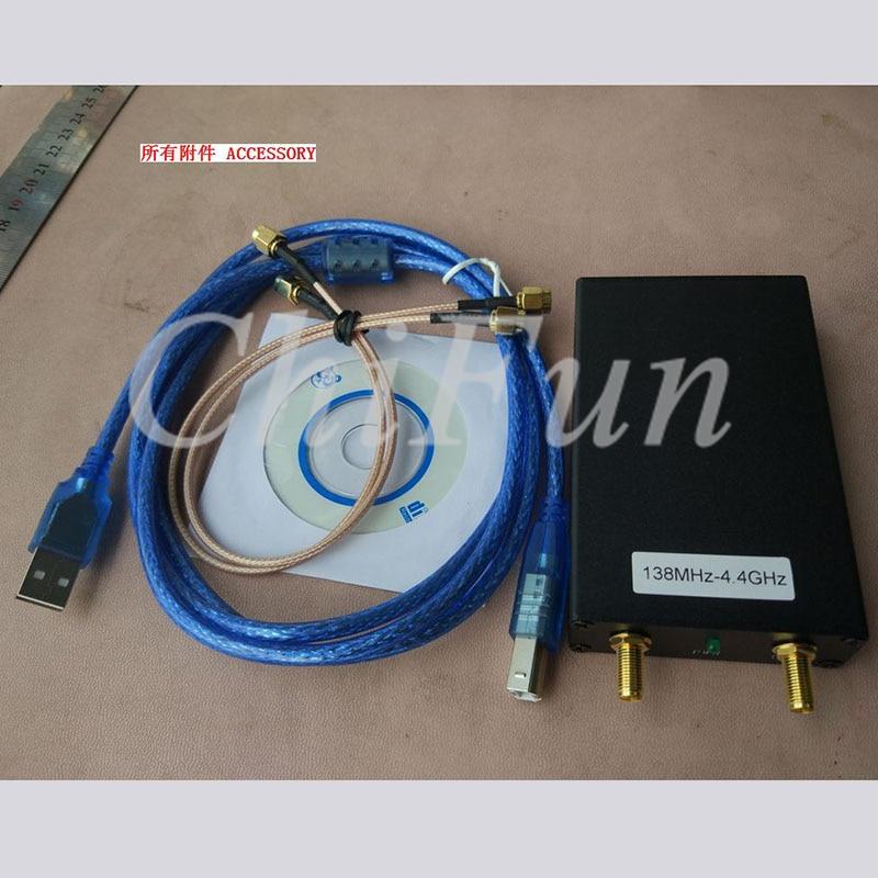 Freeshipping 138M 4 4G signanl generator spectrum analyzer can connect tracking generator MIN step 1K 1K