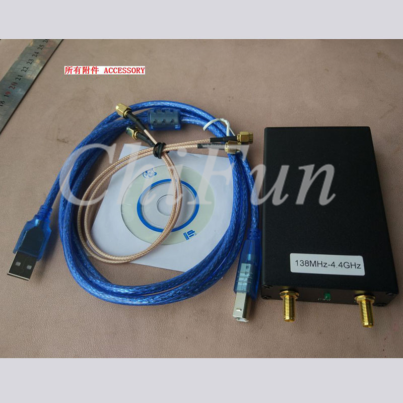 Modestil Freeshipping 138 Mt-4,4g Signanl Generator Spektrum Analysator Kann Verbinden Tracking Generator Min Schritt: 1 Karat/1 Karat/5 Karat Attraktive Mode