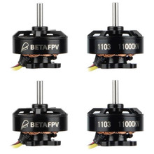 4 pcs BETAFPV 1103 11000KV Brushless Motors for 2S brushless whoop drone