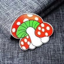 Размер гриба: 6,7x8,0 см эмблемы с вышивкой нашивка джинсовая сумка Одежда шитье украшения аппликация нашивки аксессуары
