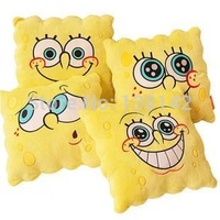 34 34cm Sponge Bob Plush Toys Spongebob Pillow Cushion The Cushion Vehicle Four Models Can Be