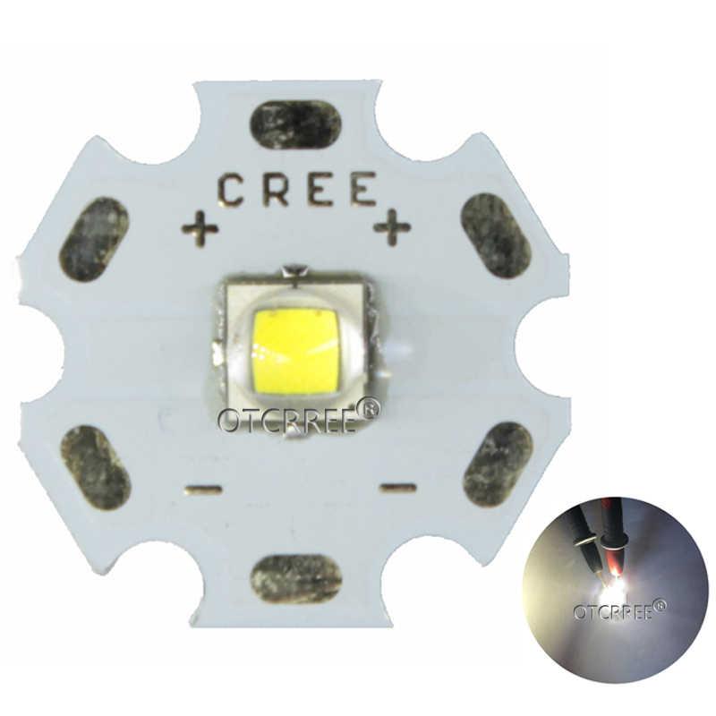 2PCS CREE XML2 XM-L2 LED T6 U2 10W WHITE Neutral White Warm White High Power LED Emitter with 12mm 14mm 16mm 20mm PCB for DIY