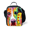 New Fashion Kids Thermal lunch Bag for Boys and Girls, Colorful Animal Lunchbox Bag for Kids, Lunch Box for Teenager Picnic Box,