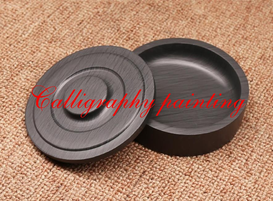 4Chinese She Inkstone  Inkslab for Calligraphy Ink stone student inkstone with cover Inkstone for Grinding Ink4Chinese She Inkstone  Inkslab for Calligraphy Ink stone student inkstone with cover Inkstone for Grinding Ink