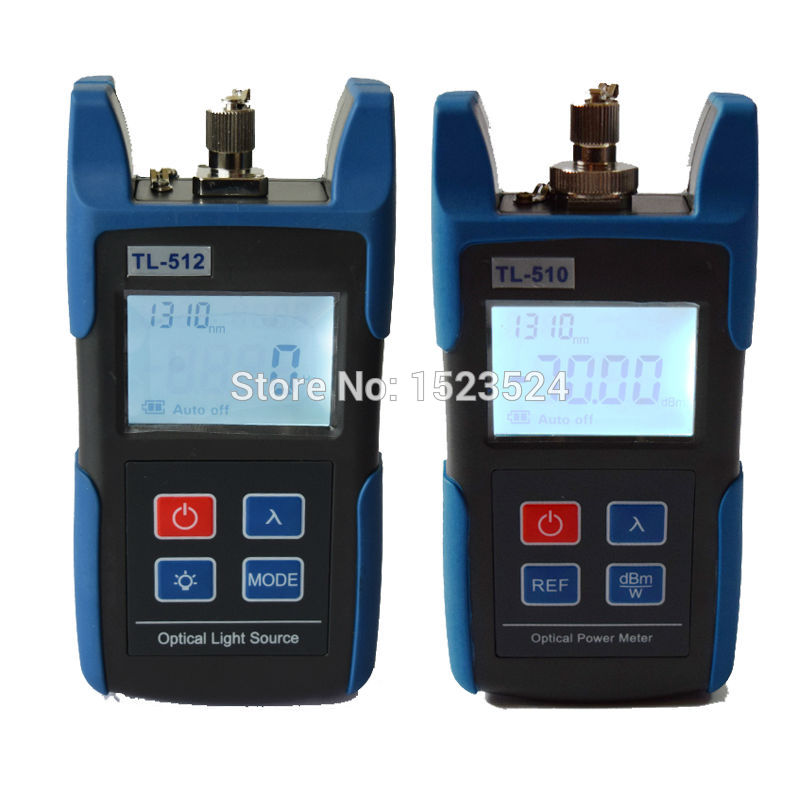 FTTH Optical Multimeter TL510A Optical Power Meter + TL512 1310/1550nm Optical Light Source-in Fiber Optic Equipments from Cellphones & Telecommunications