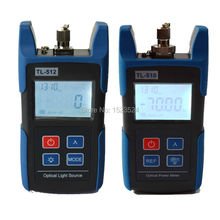 FTTH Optical Multimeter TL510A Optical Power Meter + TL512 1310/1550nm Optical Light Source